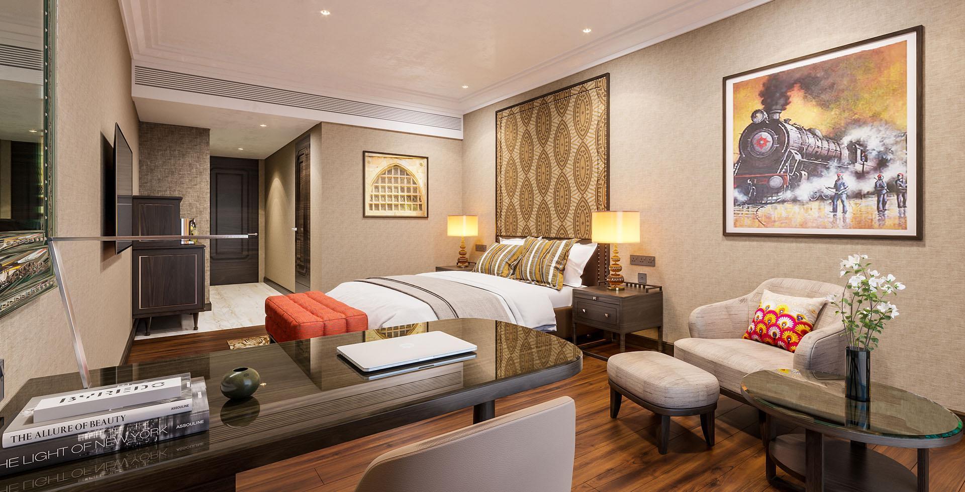 Luxury Garden View Room