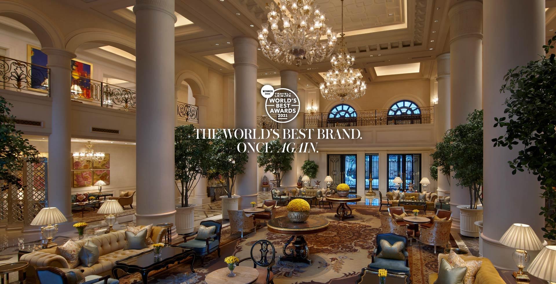 World's best hotel brand