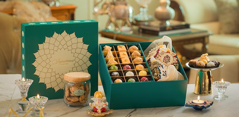 The Leela Diwali gift hamper