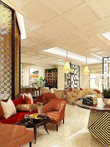 Access to Royal Club lounge